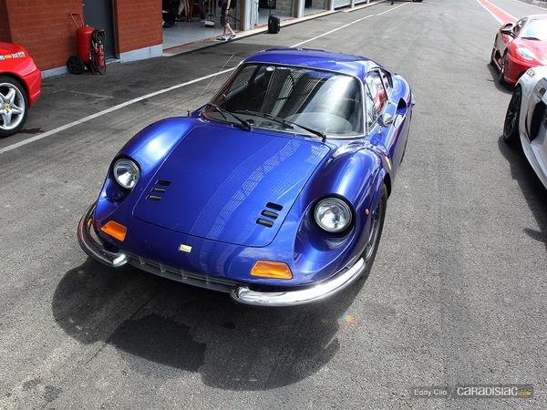 Photos du jour : Dino 246 GT (Modena Track Days)