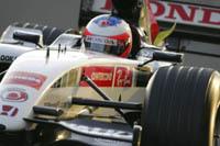 Rubens Barrichello à Jerez