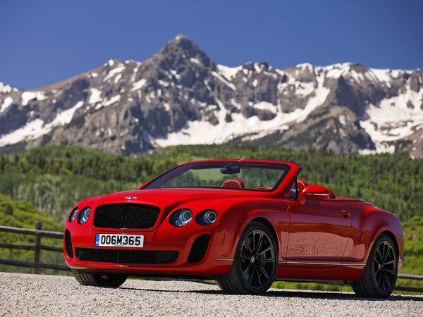 Bentley Continental Supersports Convertible : un cabrio costaud, des photos, une vidéo