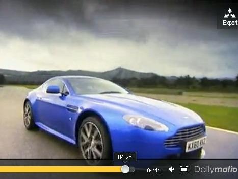 Fifth Gear : Aston-Martin V8 Vantage S, meilleure qu'une Porsche 911 Turbo ?