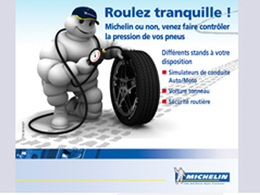 Pneus/sécurité-économie de carburant : l'opération «Faites le plein d'air» de Michelin a démarré