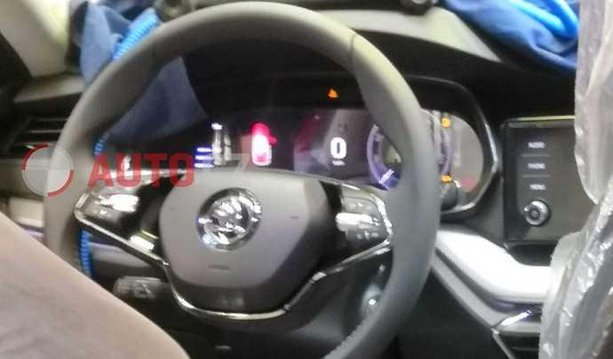 Future Skoda Octavia : évolutions de design à bord