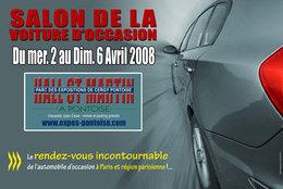 Le salon de la voiture d'occasion de Pontoise a ouvert ses portes.