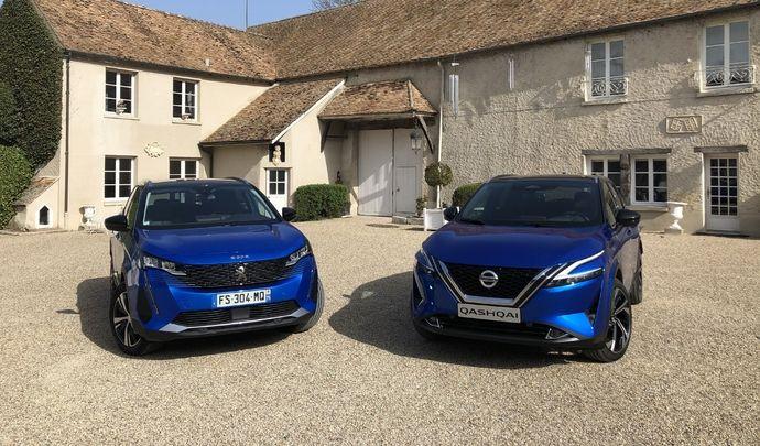 Comparatif vidéo - Nissan Qashqai vs Peugeot 3008 : les premiers de la classe