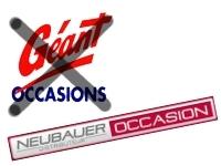 """""""Géant Occasion"""" devient """"Neubauer Occasion""""."""