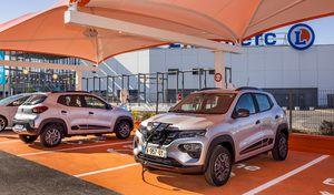 La Dacia Spring en location chezLeclerc à 5€ par jour