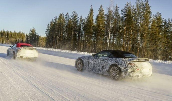 Le nouveau Mercedes SL va remplacer l'AMG GT roadster