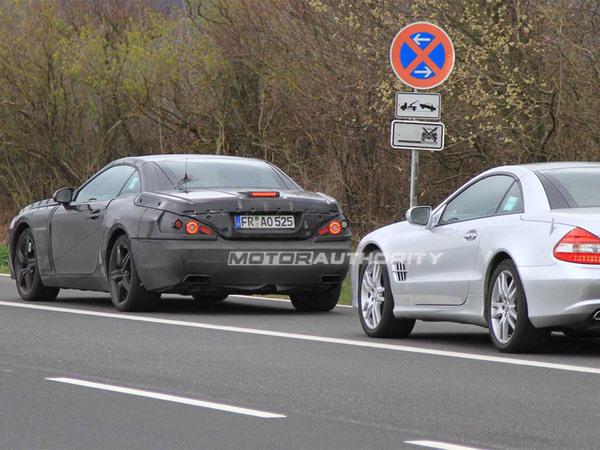 Futur Mercedes SL : typé SLS lui aussi