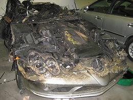 Pour fondu de Mercedes SLR, 45.000$ le bout de carbon (isé)