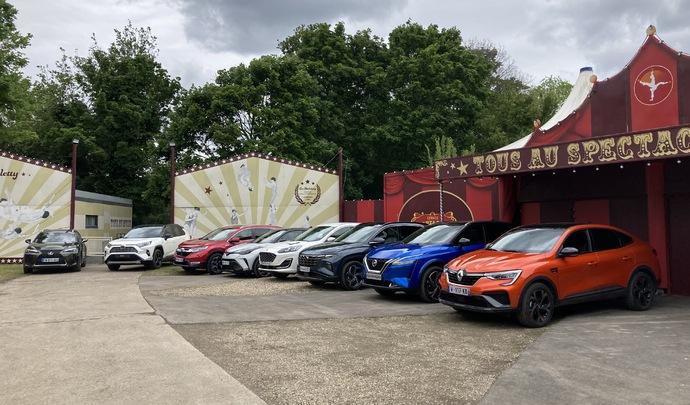 Les 8 SUV compacts hybrides du salon Caradisiac Electrique/hybride 2021: quel modèle choisir ?