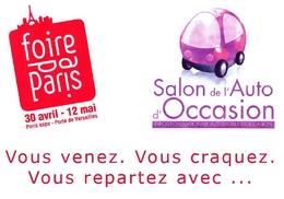 Foire de Paris : les véhicules d'occasion à l'honneur.