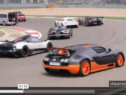 SIC Club Challenge 2011 : 500 supercars sur la ligne de départ
