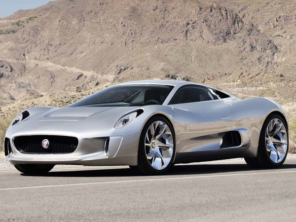 Jaguar C-X75 : 500 ch à partir d'un quatre cylindres