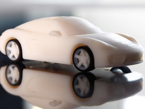 Votre Porsche Cayman... miniature imprimée 3D