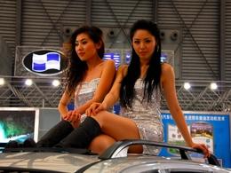 """Les """"show girls"""" et les enfants bannis du salon de Shanghai"""