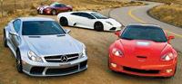 [Vidéo] 4 supercars & plus de 2500 ch!