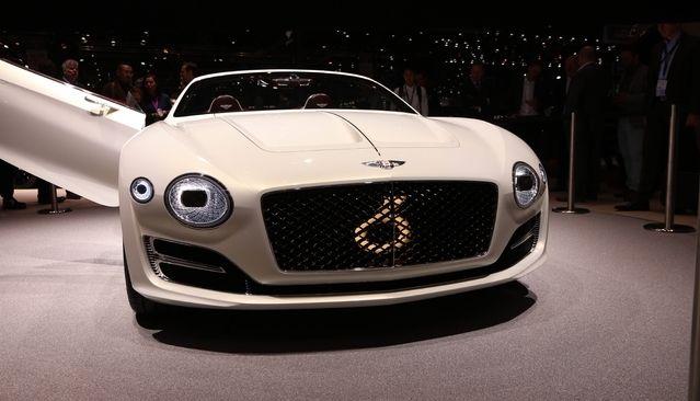 Bentley prépare une berline électrique cousine de la Porsche Mission E