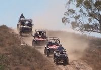 Red Track 2014 : la gamme CF Moto au coeur de l'Outback australien
