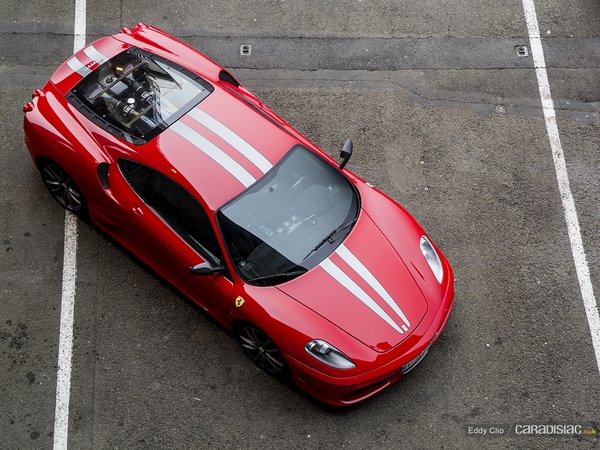 Photos du jour : Ferrari 430 Scuderia (Exclusive Drive)