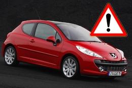 La Peugeot 207 au rappel : la boîte auto fait des siennes !