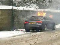 Sa cigarette électronique incendie son Audi A5 Sportback