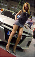 Les Girls du Barcelone Tuning Show