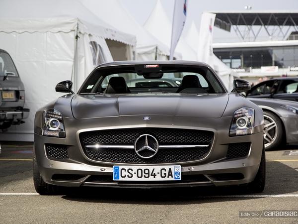 Photos du jour : Mercedes SLS GT Amg (Exclusive Drive)