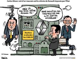 L'Etat veut une refonte à la tête de Renault