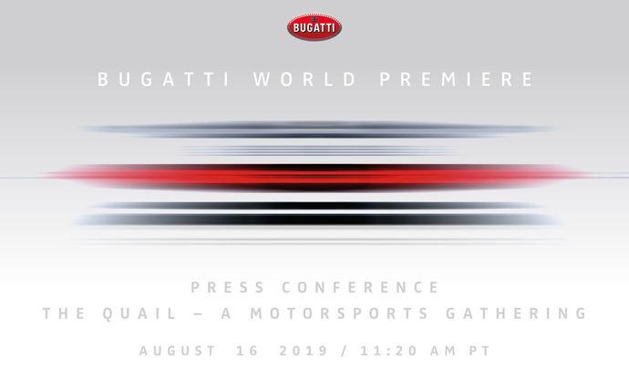 Bugatti annonce une nouvelle EB110 pour le concours d'élégance de Pebble Beach