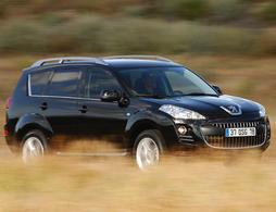 Le Peugeot 4007 au rappel : il peut caler en conduite extrême !