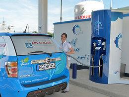 Air Liquide étudie la possibilité d'un réseau de pompes à hydrogène en France