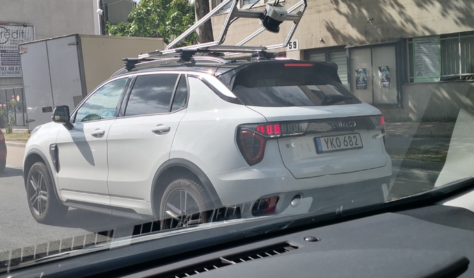 Lynk&Co teste son SUV sur les routes françaises