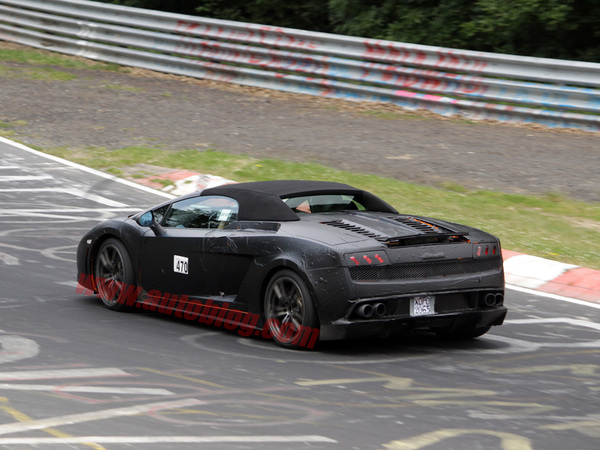 Une Lamborghini Gallardo LP570-4 Superleggera Spyder en préparation?
