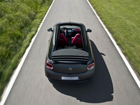 Citroën va commercialiser une DS3 Cabrio Racing
