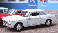 Miniature : 1/43ème - PEUGEOT 404 coupé