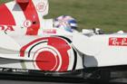 Jenson Button réalise le meilleur temps des essais à Jerez