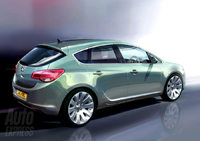Future Opel Astra: sans doute comme ça