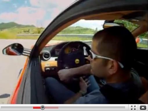 EVO : Chris Harris essaie la Ferrari 599 GTO