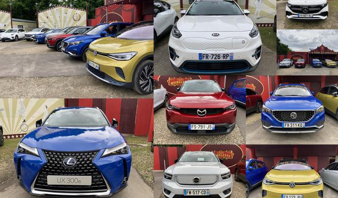 Les 7 SUV compacts électriques du salon Caradisiac Electrique/hybride 2021: quel modèle choisir ?