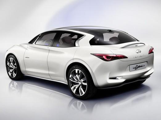 Future compacte Infiniti : une traction équipée de 4 cylindres diesel ... Mercedes !