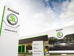 Skoda offre une nouvelle identité visuelle à son réseau