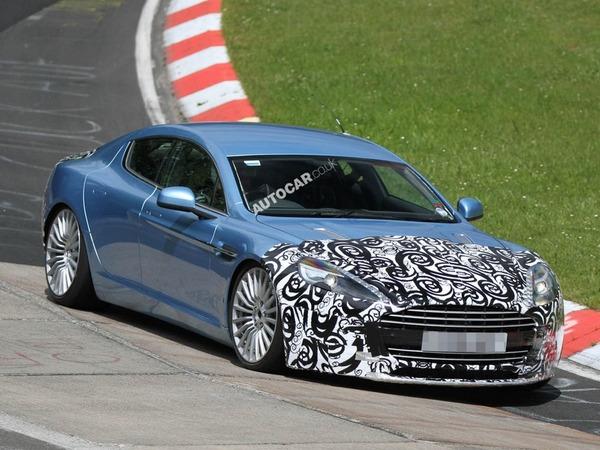 Aston Martin : du neuf pour la Rapide ?