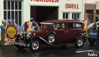Miniature : 1/43ème - MERCEDES 460 Nürburg Pullman