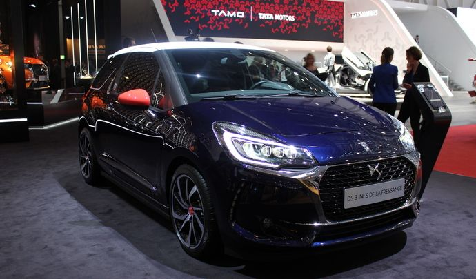 ds3 in s de la fressange cocorico en direct du salon de gen ve 2017