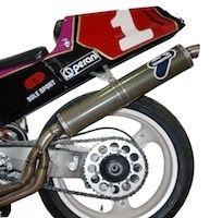 Termignoni: une ligne d'échappement Racing pour RC30 toujours disponible