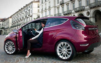 Ford en Verve: premières photos du concept Fiesta