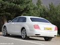 Surprise : la future Bentley Flying Spur déguisée en Mercedes