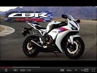 Honda CBR 1000RR 2012 : Une vidéo à l'Américaine