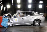 5 étoiles aux crash-tests Euro Ncap pour l'Alfa Romeo 159