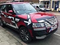 Le futur Range Rover se déshabille